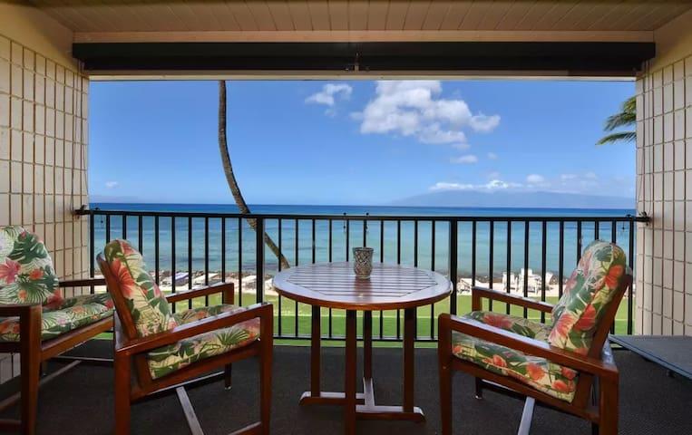 1BR West Maui Condo w/Oceanfront Views! - 라하이나 - 아파트(콘도미니엄)