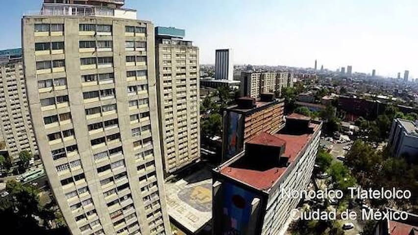 Vibra la historia de México, este es Tlatelolco! - Ciudad de México - Apartment
