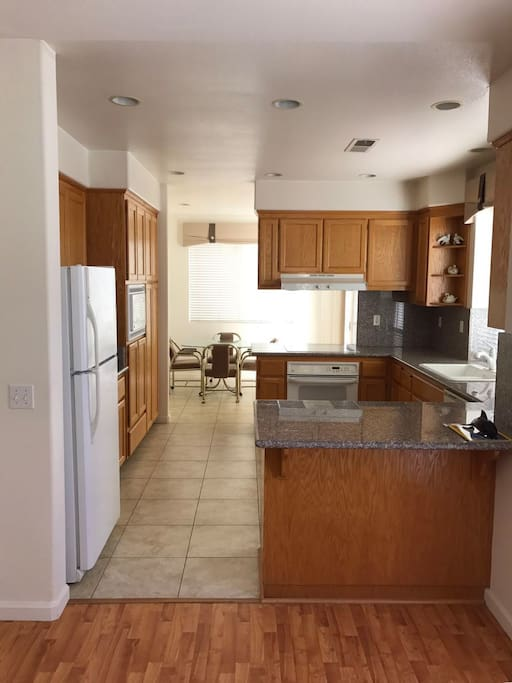 very convenient and big kitchen