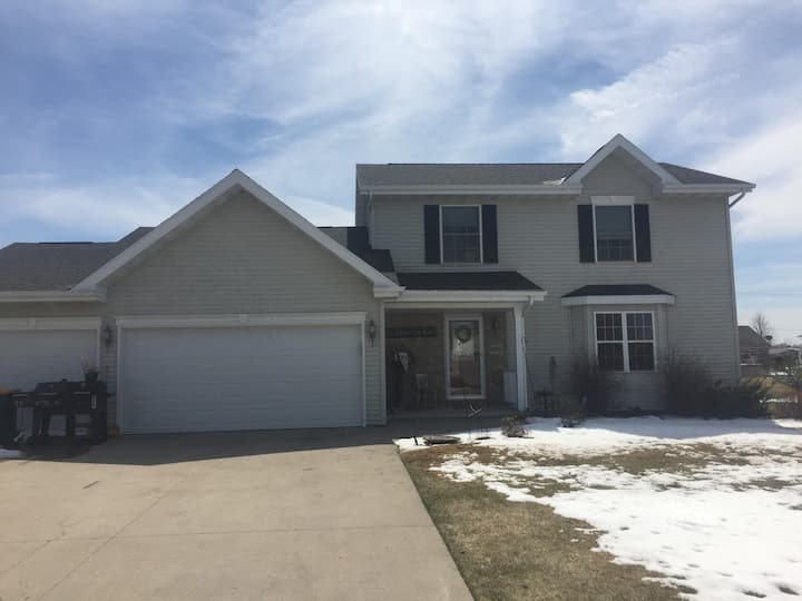 EAA close to Fond du lac Airport family home