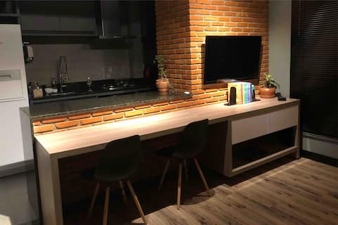 Lindo apartamento de 1q no centro de Goiânia.