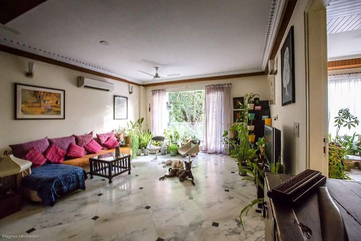 Cozy & quiet stay with the park view in V. Vihar