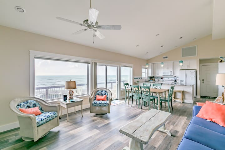 Your rental has a spacious open-concept layout, with gulf views at the center of it all!