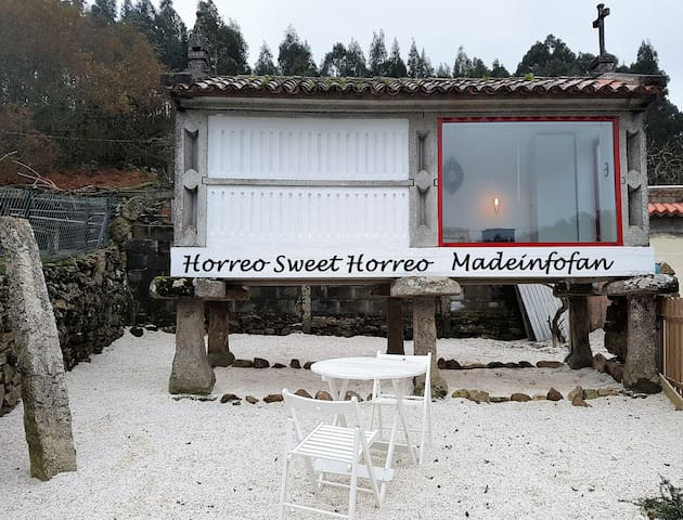 Horreo gallego Bed&Breakfast - Meis - Natur lodge