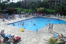 Pool, 2 spa's (1 adult & 1 family).