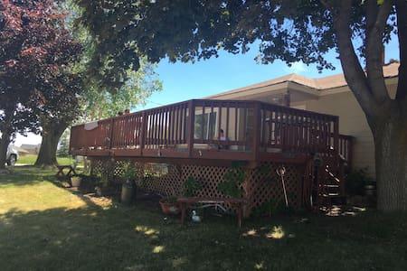 Cozy House by Bear Lake Marina/Raspberry Square - Garden City - Talo