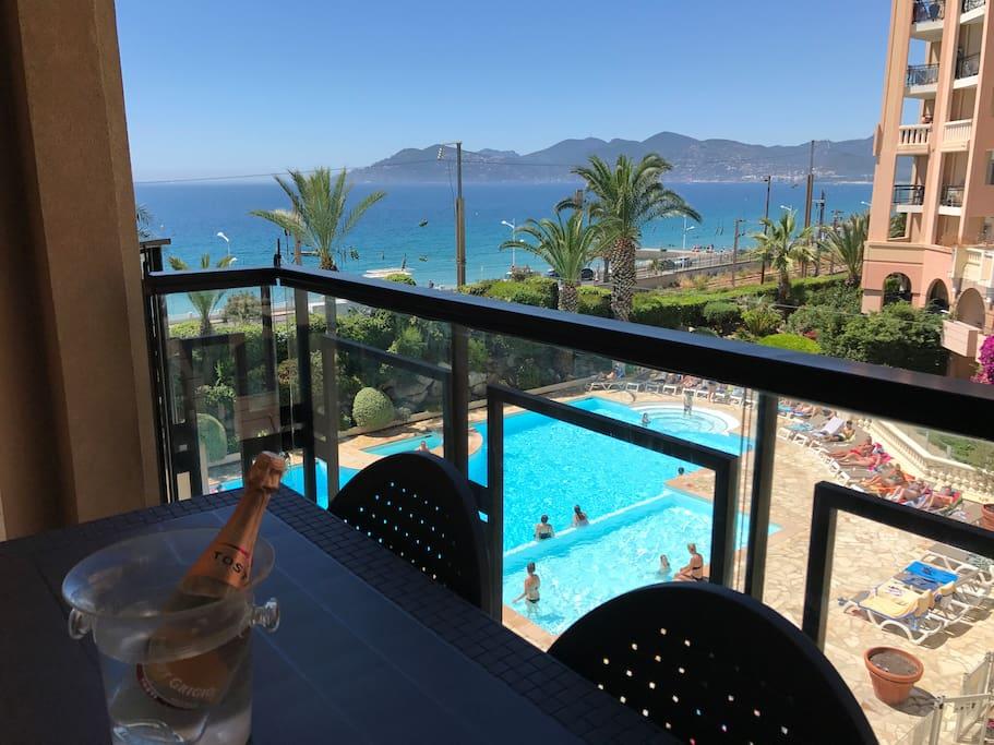 Terrasse Vue Mer et 2ème Piscine