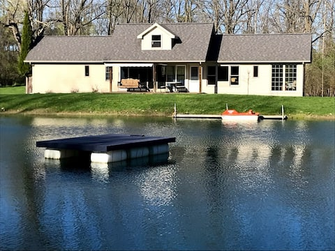 Entire Cottage, Private Pond, River Frontage