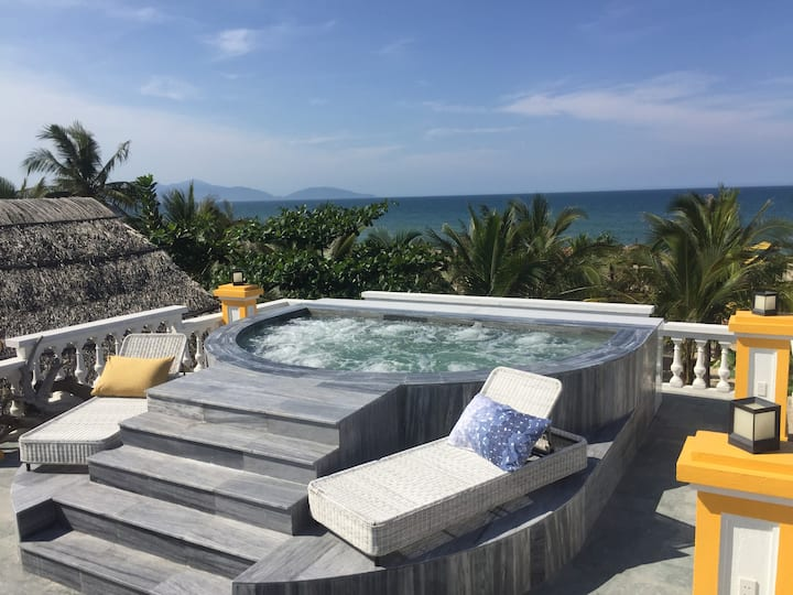 One of a Kind Beach Front Villa in Hoi An!