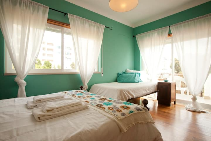 Double room with a superb sea view