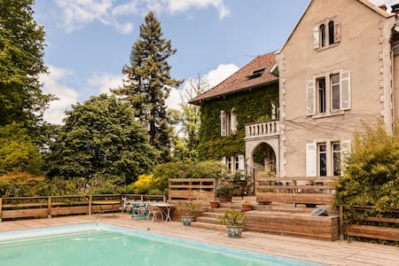 Ch 2 pers dans Manoir avec piscine - Pontonx-sur-l'Adour