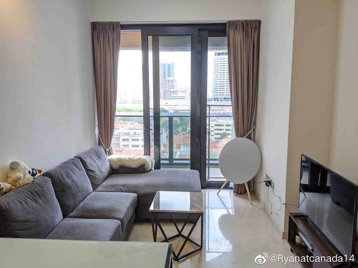 Luxury condo apartment @ DUO Residence, Bugis