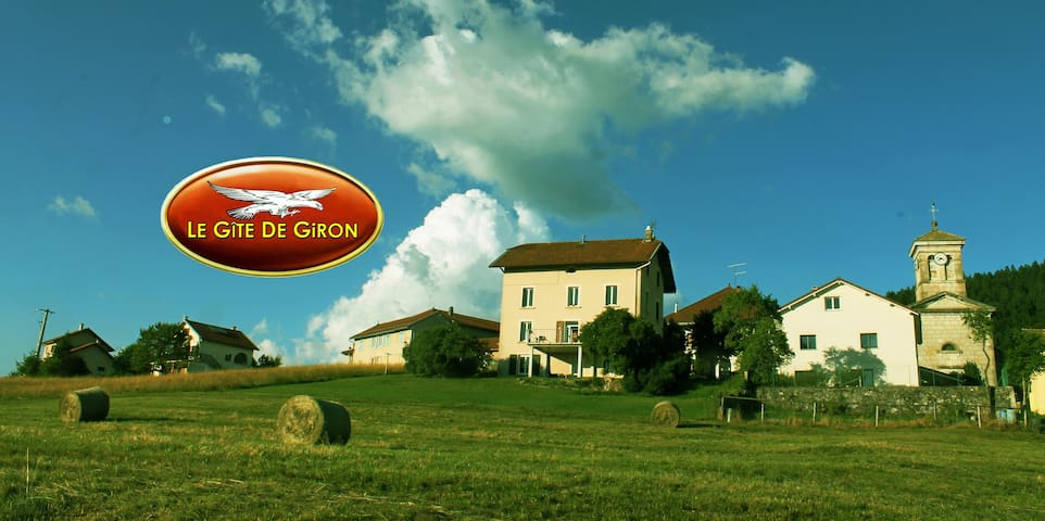 Le Gîte de Giron- Dans le Parc du Haut Jura - - Giron - Lejlighed