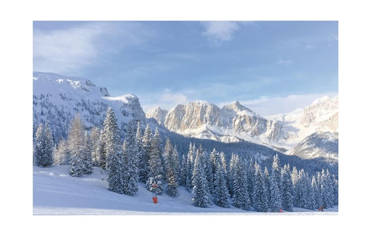 Holiday apartment with 1 bedroom on 35 m² in Corvara -BZ-