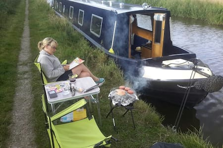 Canal Narrowboat Holiday for up to 8 people - Penkridge