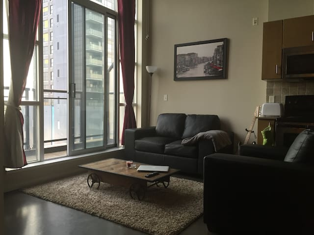 One bedroom loft in Downtown Kitchener - Kitchener - Apartment