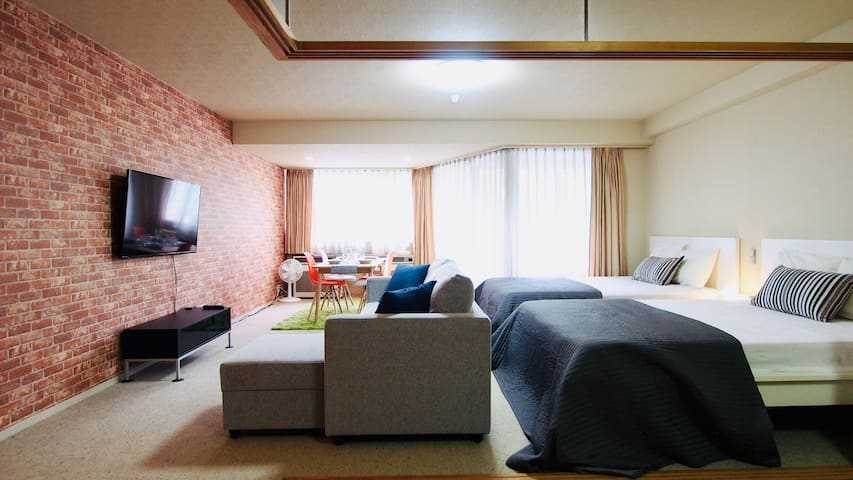Ski-in-out 3Beds+JP Room Kids&WiFi Free_SPA&Pool