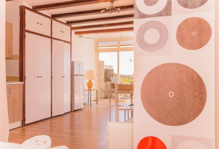 Renoviertes Studio mit Meerblick in Cala Ratjada