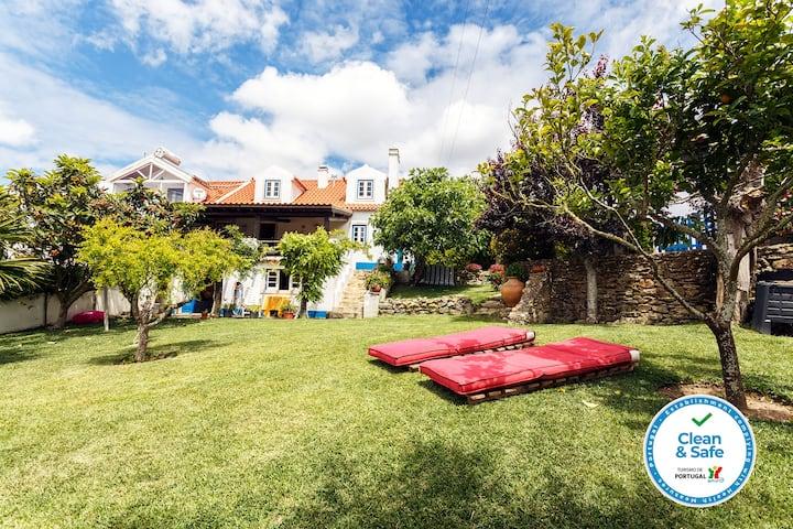 Ericeira Private Villa | Pool | Retreat | Garden