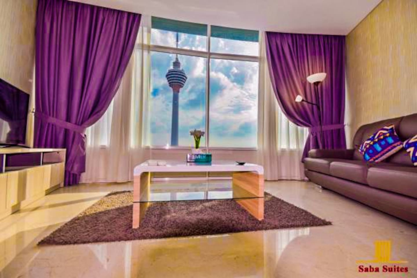 Living room / KL Tower View