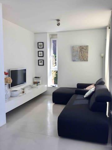 TV area with lounge sofa