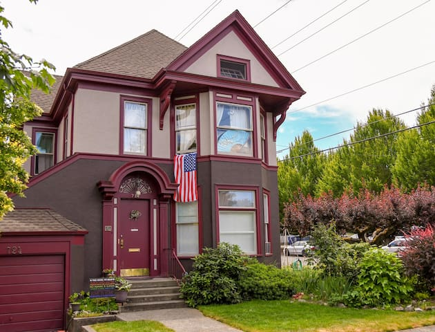 Historic North Slope Home (Lower Unit)