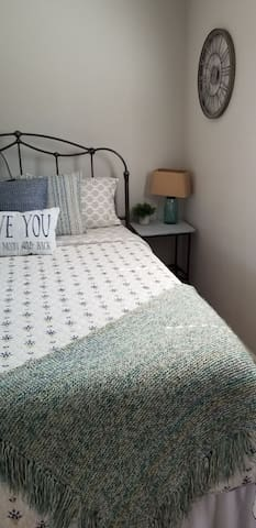 Simple and comfortable, fluffy clean pillows...