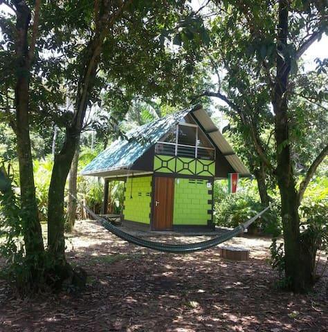 Junglehuisje midden in de natuur en volop rust! - Meerzorg - 一軒家