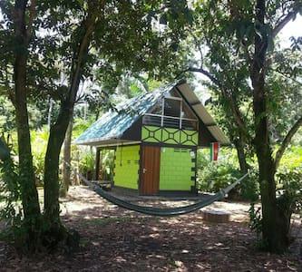 Junglehuisje midden in de natuur en volop rust! - Meerzorg - Rumah
