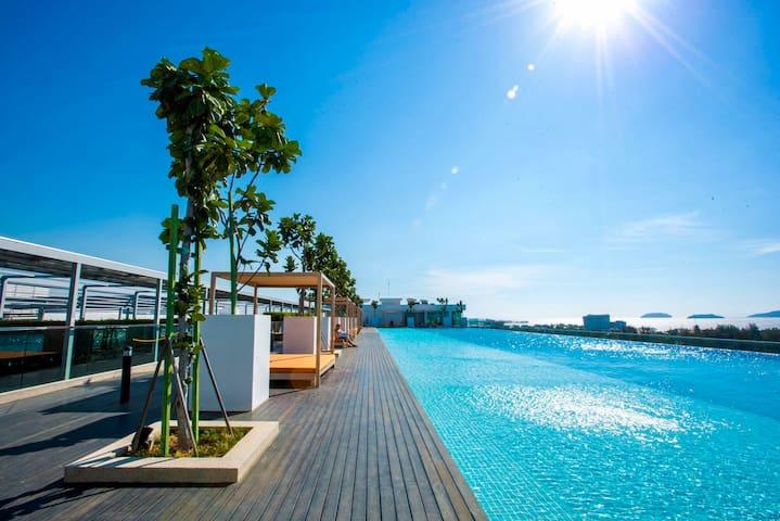 LüSuite X - 10PAX 3Bedroom InfinityPool 海景无边泳池3房公寓