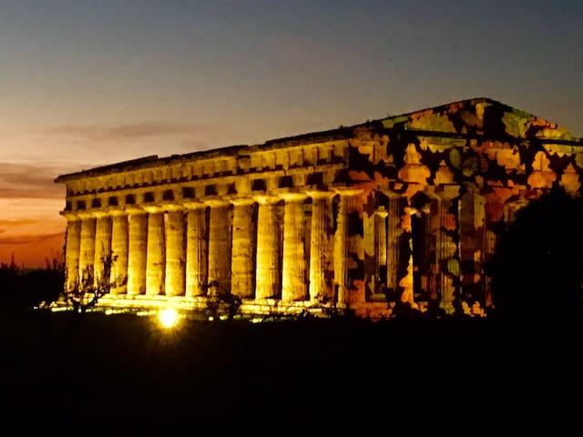 Paestum:Accogliente appartamento tra mare e templi - Licinella-Torre di Paestum - Lejlighed