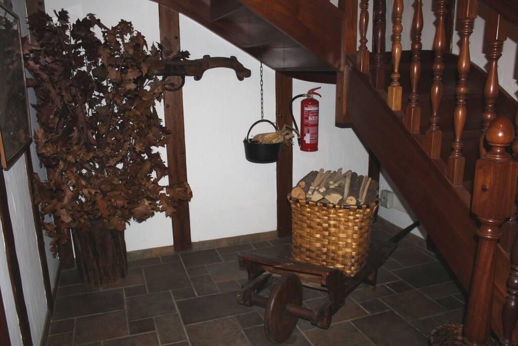 Casa Rural Iriondoa I - Decoración entrada