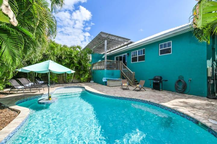 Caribbean Reef - Three Bedroom Cottage, Sleeps 8