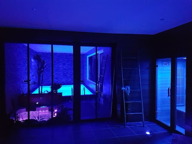 Studio 2 pers, avec accès à notre espace détente