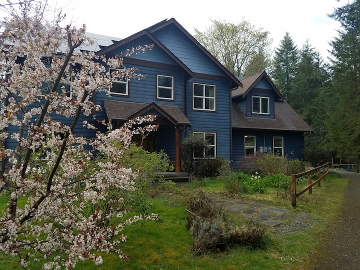 Woodland Rm-10 min to Gig Harbor R&R in the WOODS