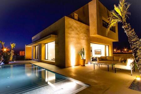 Villa architecte moderne luxueuse