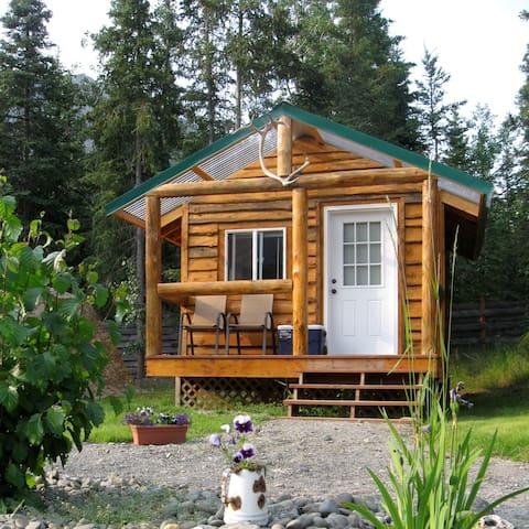 Alaska Horsemen Guest Ranch Cyrano Cabin
