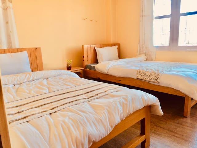 4FO-世界和平塔-身心合一-全新双床房