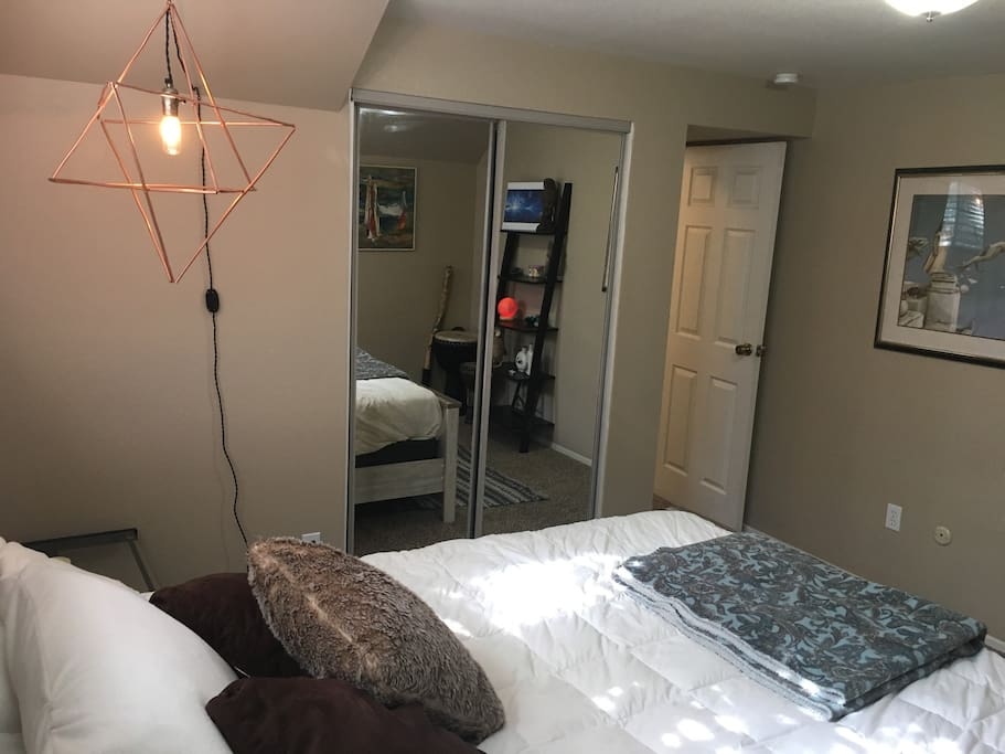 Guest bedroom - basement