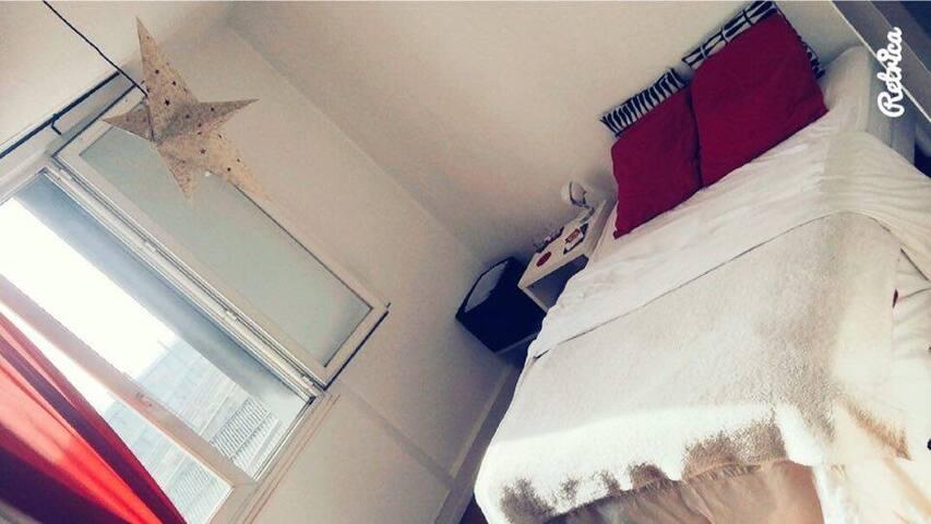 Bedroom close to the heart of Lyon - Lyon - Lägenhet