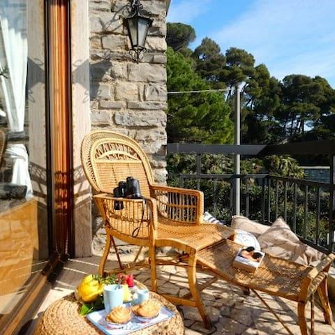 Beachfront House With Garden In Portovenere - Portovenere - Hus