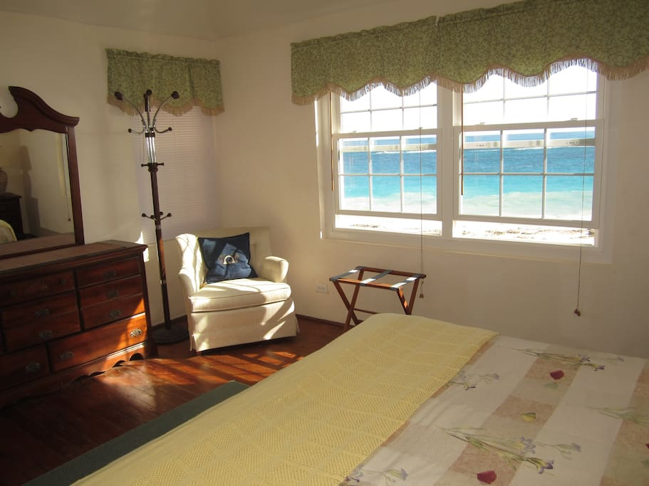 View from Beach Home Master bedroom