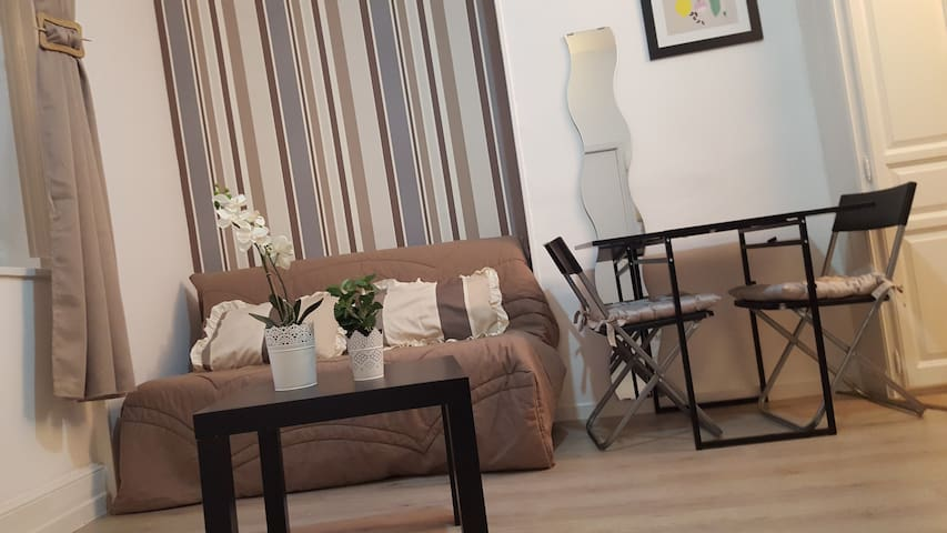 Studio Jean Moulin 12 - Béthune - Apartament
