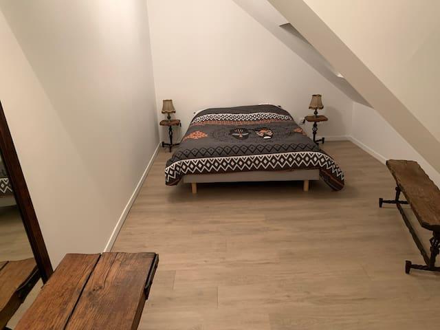 Chambre privé lit double