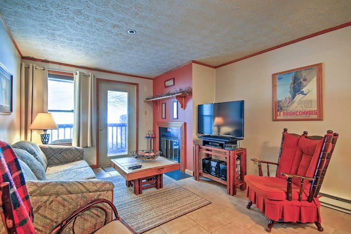 Blue Knob Ski Resort Condo w/Balcony & Wet Bar!