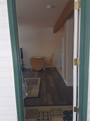 Entry way.  Private entrance.