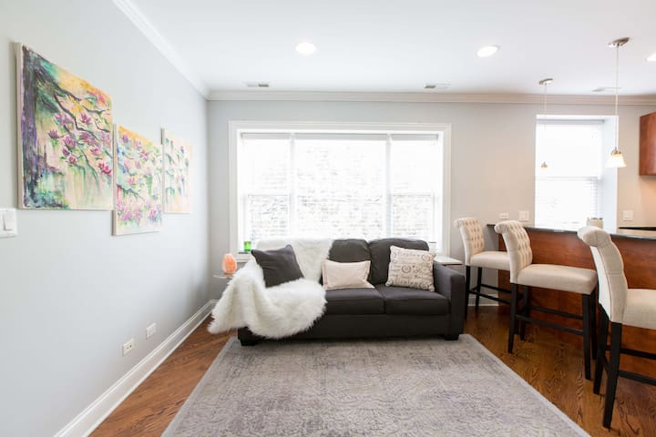 Renovated Historic 2BD Chicago Walk Everywhere!
