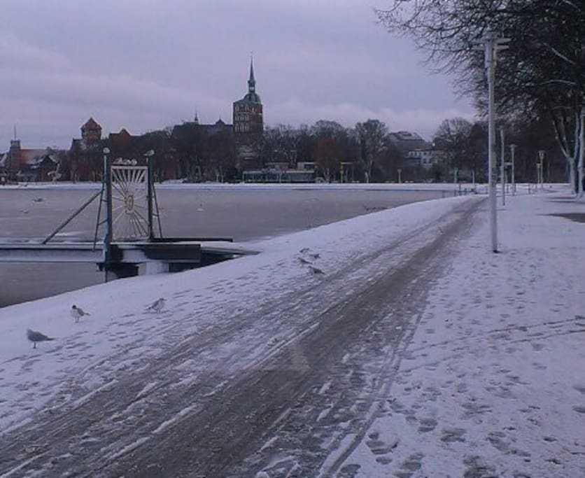 Winter in Stralsund