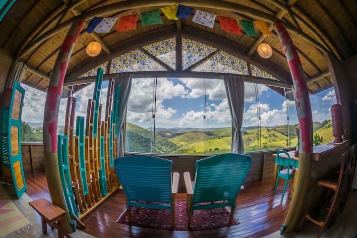 Chalés GRANDE Vista - Home Office nas montanhas