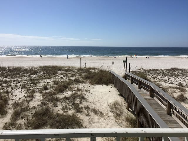 2nd Floor 2BR Beach Condo - Beaches OPEN May 1st!!